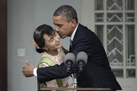 Gaffe Obama Aung San Suu Kyi